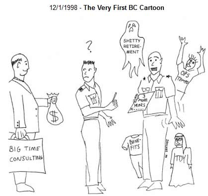 The Very First BC Cartoon